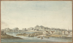 A View of Harlaem from Morisania in the Province of New York 1765